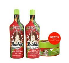 INOAR: Shampoo 1000ml + Condicionador 1000ml (grátis mascara coconut)
