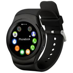 NO.1 G3 Sports Smartwatch Phone  - BLACK - R$128.31