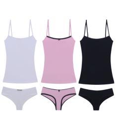 Conjunto Underwear Pima Hope por R$69