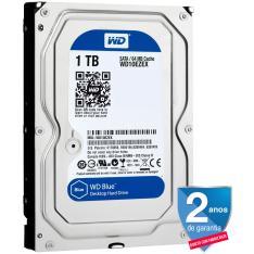 HD INTERNO P/ DESKTOP WESTERN DIGITAL BLUE 1 TB - WD10EZEX - R$ 219