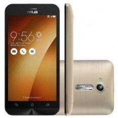 """Smartphone Asus Zenfone Go ZB500KG Tela 5"""" 3G desbloqueado Dourado R$389.90"""