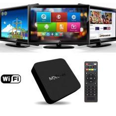 BUG Tv Box HD Android 4.4 Dlna Airplay Smart Tv Com Internet, Youtube, Netflix, Jogos E Filmes por R$ 16