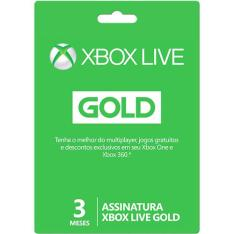 Rocket League grátis ao assinar 3 meses de Live Gold (digital ou cartão Live Gold) - Cartão na Submarino R$54,98