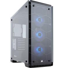 Gabinete Gamer Corsair Crystal 570X RGB em Vidro Temperado e com LED RGB CC-9011098-WW - R$999