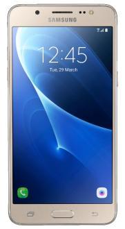 "Samsung Galaxy J5 Metal Dual Chip Dourado 4G Tela 5.2"" Android 6.0 Câmera 13Mp 16Gb - R$584"