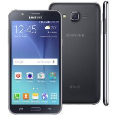 Smartphone Samsung Galaxy J7 Duos Preto com Dual chip por R$ 656