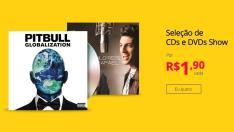 Seleção CDs e DVDs Show por R$ 1,90