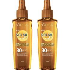 Kit 2 Óleos Bronzeadores L'Oréal Paris Protetor Solar Expertise FPS 30  - R$20