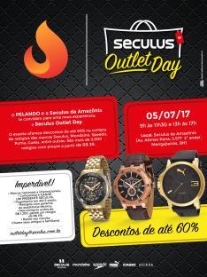 [BH] OUTLET SECULUS - até 60% OFF em relógios - Evento exclusivo