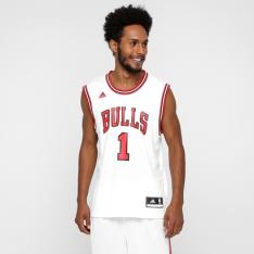 Camiseta Regata NBA Adidas Bulls Home Rose R$79