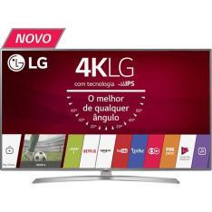 "Smart TV LED 55"" LG Ultra HD 4K 55UJ6545 com Conversor Digital  por R$ 3560"