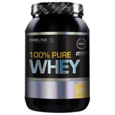 100% Pure Whey Baunilha 900 g - Probiotica - R$ 95