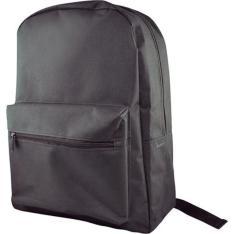 Mochila para notebook Leadership Blackpack Nylon Preto - Até 15'' - R$24,90