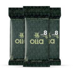 Kit Olla Preservativos: leve 3, pague 2. -  preço máximo R$17