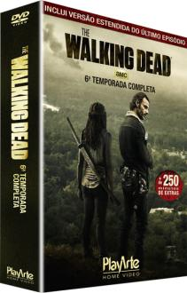 DVD The Walking Dead - 6ª Temporada - 5 Discos - R$36