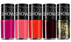 Esmalte Maybelline Color Show Varias Cores