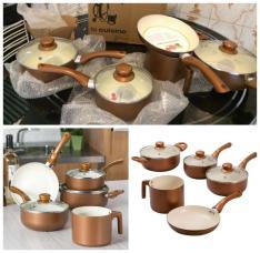 [Shoptime] Conjunto de Panelas Dijon La Cuisine com Revestimento Cerâmico 5 Peças