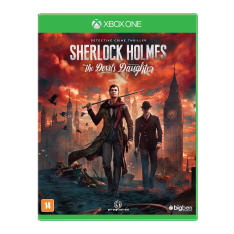 Jogo Sherlock Holmes The Devil's Daughter Xbox One Big Ben - R$98,90