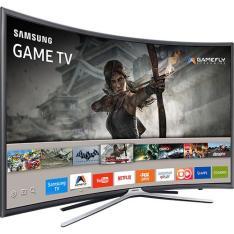 "Smart TV LED Tela Curva 40"" Samsung 40K6500 Full HD 3 HDMI 2 USB R$1.755"