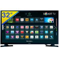 """Smart TV LED 32"""" Samsung Série 4 UN32J4300 2 HDMI por R$ 1099"""