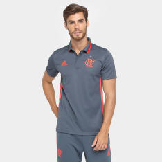 Camisa Polo Adidas Flamengo - Tamanho P - R$80