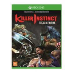 Jogo Xbox One Killer Instinct Definitive Edition Microsoft R$ 30