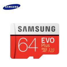 Original Samsung UHS-3 64GB Micro SDXC Memory Card - 64GB ORANGE