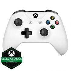 Controle Sem Fio para XBOX ONE - Branco - Microsoft por R$ 214