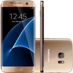 Smartphone Samsung Galaxy S7 Edge G935F, 32GB, 12MP, 4G, Desbloqueado - Dourado - R$1999
