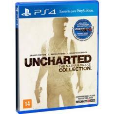 PS4 Uncharted The Nathan Drake Collection - Frete grátis para S e SE por R$ 50
