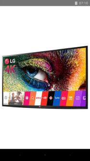 SMART TV LG 43LH5600 webOs 3.0 ultra HD 4K 3 HDMI  1 USB