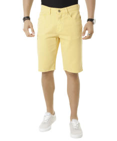 bermuda reta amarela - R$20