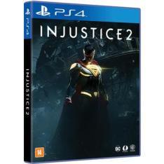 Jogo Injustice 2 PS4 R$150