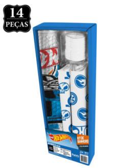 Kit Banheiro Hot Wheels Kids Azul Pop Prat-K  R$ 24,99