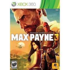 Game Max Payne 3 Xbox 360 Microsoft - R$ 30