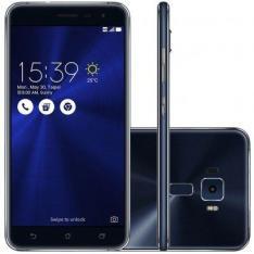 "Smartphone Asus Zenfone 3 5.5"" 32GB ZE552KL Desbloqueado Preto por R$ 1150"