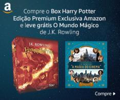 Caixa Harry Potter - Edição Premium Exclusiva + O Mundo Mágico de J.K. Rowling - R$199