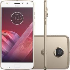 "Smartphone Motorola Moto Z2 Play Dual Chip Android 7.1.1 Nougat Tela 5,5"" Octa-Core 2.2 GHz 64GB Câmera 12MP - R$ 1493"