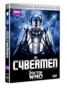 DVD Doctor Who - BBC - A Coleção Dos Monstros - Os Cybermen - R$20