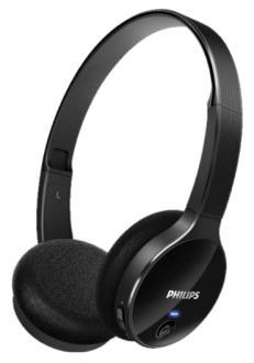 Fone de Ouvido Supra Auricular Bluetooth Philips Shb4000 Preto por R$99