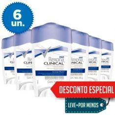 6 Desodorantes Rexona Clinical por R$ 90