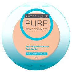 Pó Compacto Pure Make Up - Dourado - Maybelline R$17