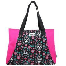 Tote Bag Fashion Mexican Skull com zíper - R$20