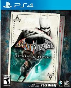 Batman: Return To Arkham - R$79,96