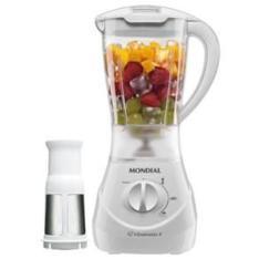 Liquidificador Mondial Vitamix 3 L-31 Branco c/ Filtro - 400 W - R$59,90