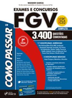 Livro Como Passar em Exames e Concursos FGV - R$47,70