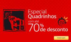 Especial Quadrinhos Editora Mino, até 70% OFF