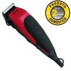 Máquina de Cortar Cabelo Wahl Home Cut - Lâminas de Aço Autoafiáveis, por R$ 80