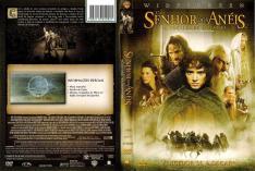 DVD O Senhor dos Anéis - A Sociedade do Anel (Simples) por R$ 3