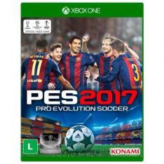 Jogo Pro Evolution Soccer 2017 (PES 17) para Xbox One (XONE) - Konami por R$ 74